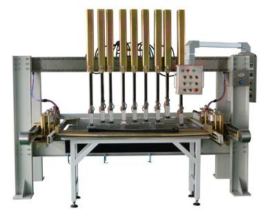 久罗风琴式防护罩群焊机JL-1600HBS